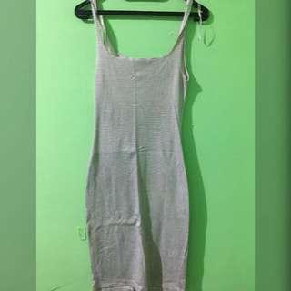 Zara strip dress