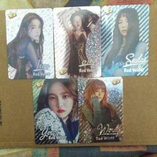 《Yes》28th yes card - Red Velvet 閃