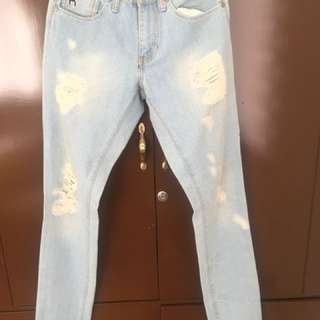 Illest Ripped jeans
