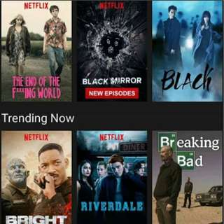Cheap Netflix account for only 50 pesos