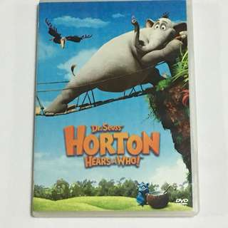 30% OFF GREAT CNY SALE {DVD,VCD & CD} Dr Seuss HORTON HEARS A WHO! - DVD