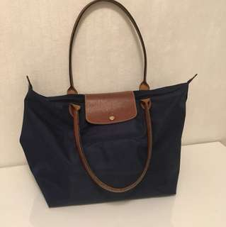Longchamp navy blue