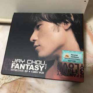 Jay Chou Fantasy CD
