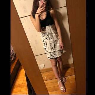 Unique Comic style dress