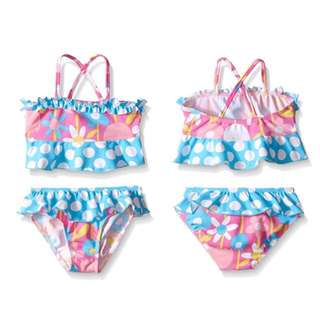 SALE 80% Off - 18-24 Mths BNWT Flap Happy 2pc swimsuit for baby girls