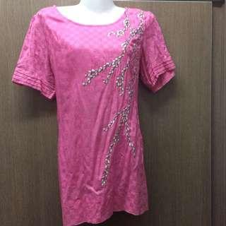 Pink CNY blouse