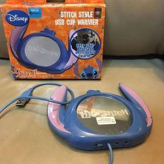迪士尼史力仔 USB 電熱杯墊 全新未使用正版
