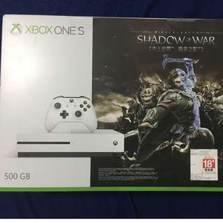 XBOX ONE S 500GB w/ SOW BUNDLE