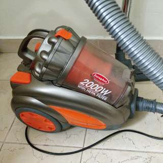 Europace Vacuum Cleaner 2000W with HEPA Filter