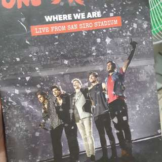 One Direction Where We Are Tour DVD