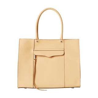 100% authentic Rebecca Minkoff Medium MAB Tote Nude