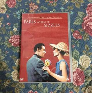 Paris When It Sizzles DVD - William Holden and Audrey Hepburn