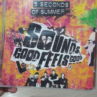 5 Seconds Of Summer Sounds Good Feels Good album