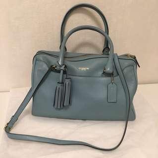 Coach Baby blue bag