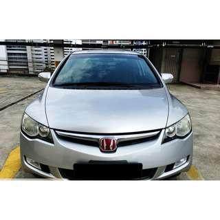 Honda civic 1.8a