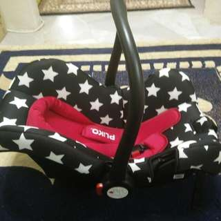 Sweet Cherry Baby Carseat Carrier