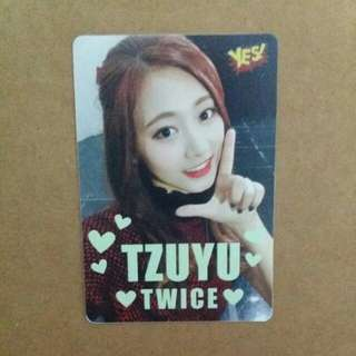 《Yes》28th yes card - Twice 子瑜 夜光 #2801(L)