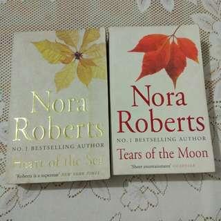 Nora Roberts erotica literature books