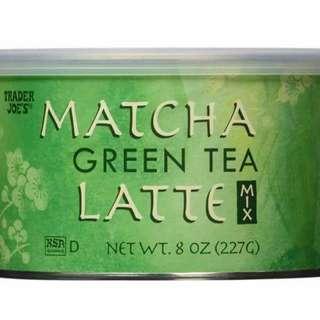 Trader Joe's Matcha Green Tea Latte