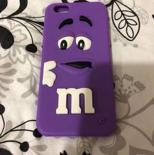 M&Ms Purple Iphone 6 Phone Case