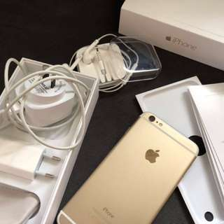 (best offer) Iphone 6 Plus GOLD 128gb