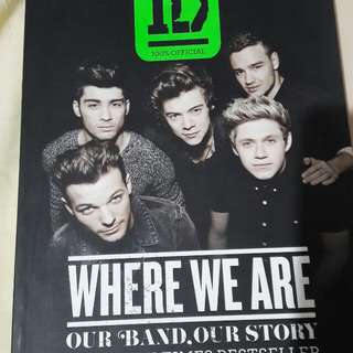 One Direction: Where We Are Book