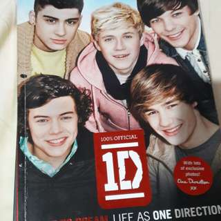 One Direction: Dare to Dream Book