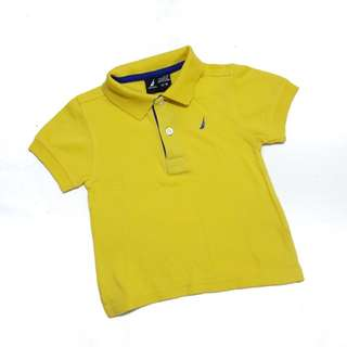 Nautica Yellow Polo Shirt 12-18mos