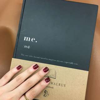 Me Notebook by We Are The Walrus