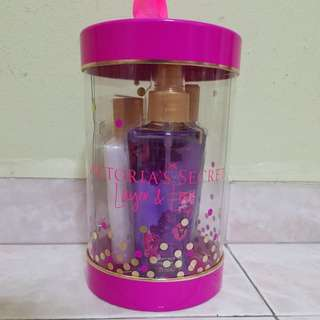 Victoria Secret Love Spell gift set