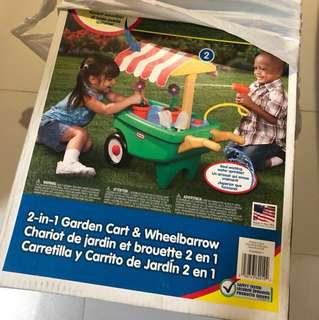 Wheelbarrow and Garden Cart 2 in 1
