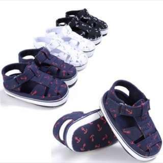 PO❗️Babygirl/boy cute soft sole crib sandal [0-18m]