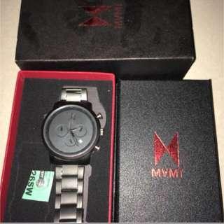 jam MVMT Chrono All Black