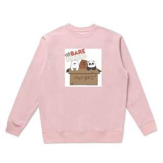 Sweatshirt We Bare Bears Edition