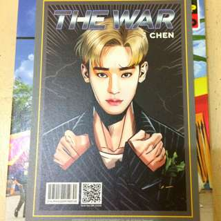EXO The War Chen/Jongdae QR A Photocard/PC