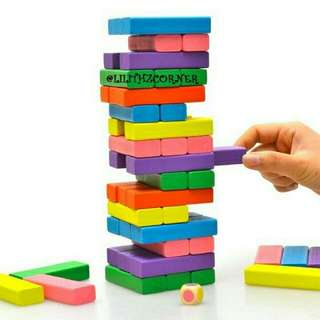 Colored Jenga