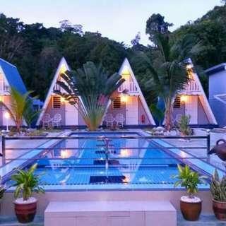 Pulau Pangkor Nipah Guesthouse max 6 person #hotel #resort