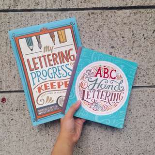 The ABC Hand Lettering + My Lettering Progress Keeper By Abbey Sy