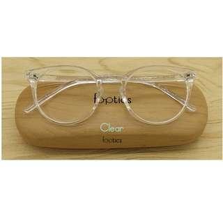 foptics Eyewear - Prescription Glasses - Parker in Clear