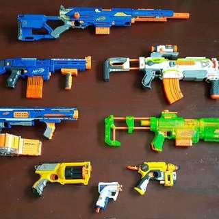 Pre-loved nerf gun