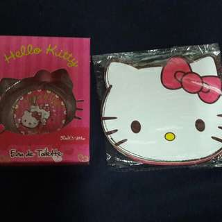 Hello kitty cologne and wallet