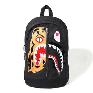 Bape Tiger Shark Backpack