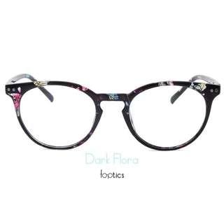 foptics Eyewear - Prescription Glasses - Parker in Dark Flora
