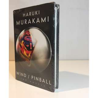 Hardbound Wind & Pinball (Two Novellas)