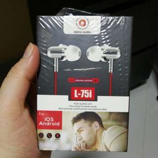Brand New Earphones (Packaging still intact)