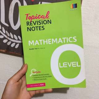 'O' Level Mathematics Revision Notes