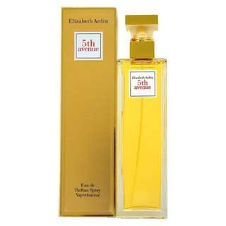 New in box ! Large 125 ml - ELIZABETH ARDEN 5TH AVENUE WOMEN EDP