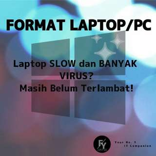 Format PC/Laptop