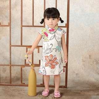 CNY clearance sale INSTOCK Flower prints qipao