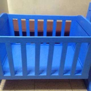 Wooden crib + duyan